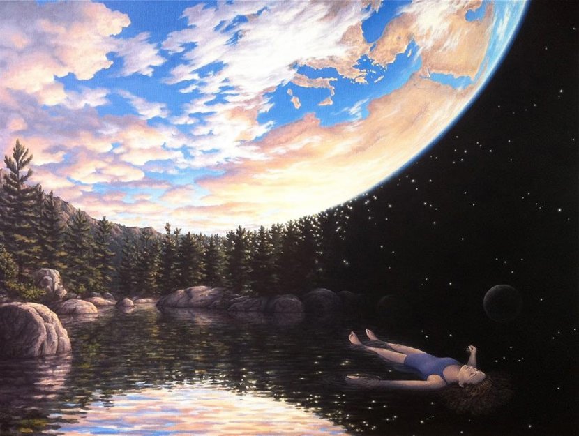 Seamless Optical Illusion Pictures, Paintings and Art The Phenomenon of Floating