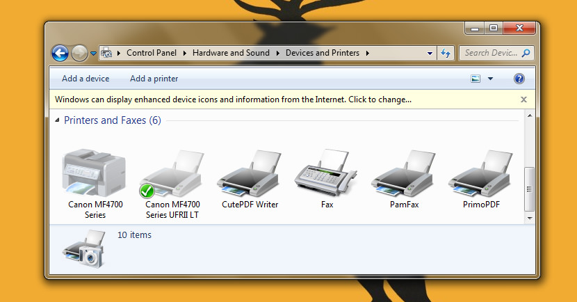 Windows  Home Printer
