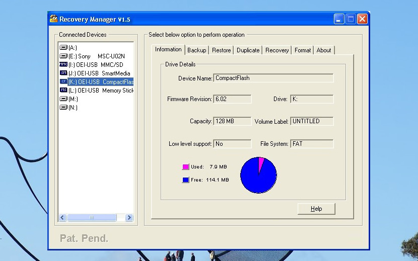 Free Compact Flash and SD Memory Card Data Photo Recovery Software