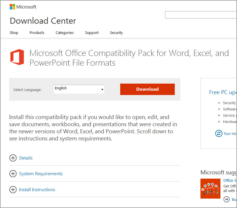 Microsoft Office 2003 and 2007 DocX File Format Converter