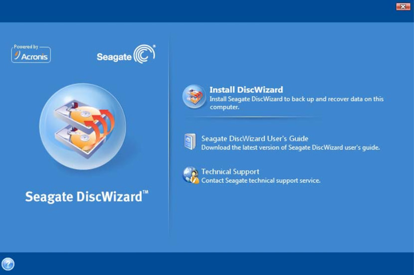 seagate discwizard Norton Ghost Alternatives On Cloning Disk to Disk Image Of Windows