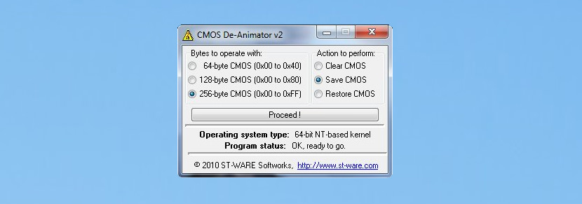 CMOS De-Animator Reset and Remove BIOS Password Settings for Laptop