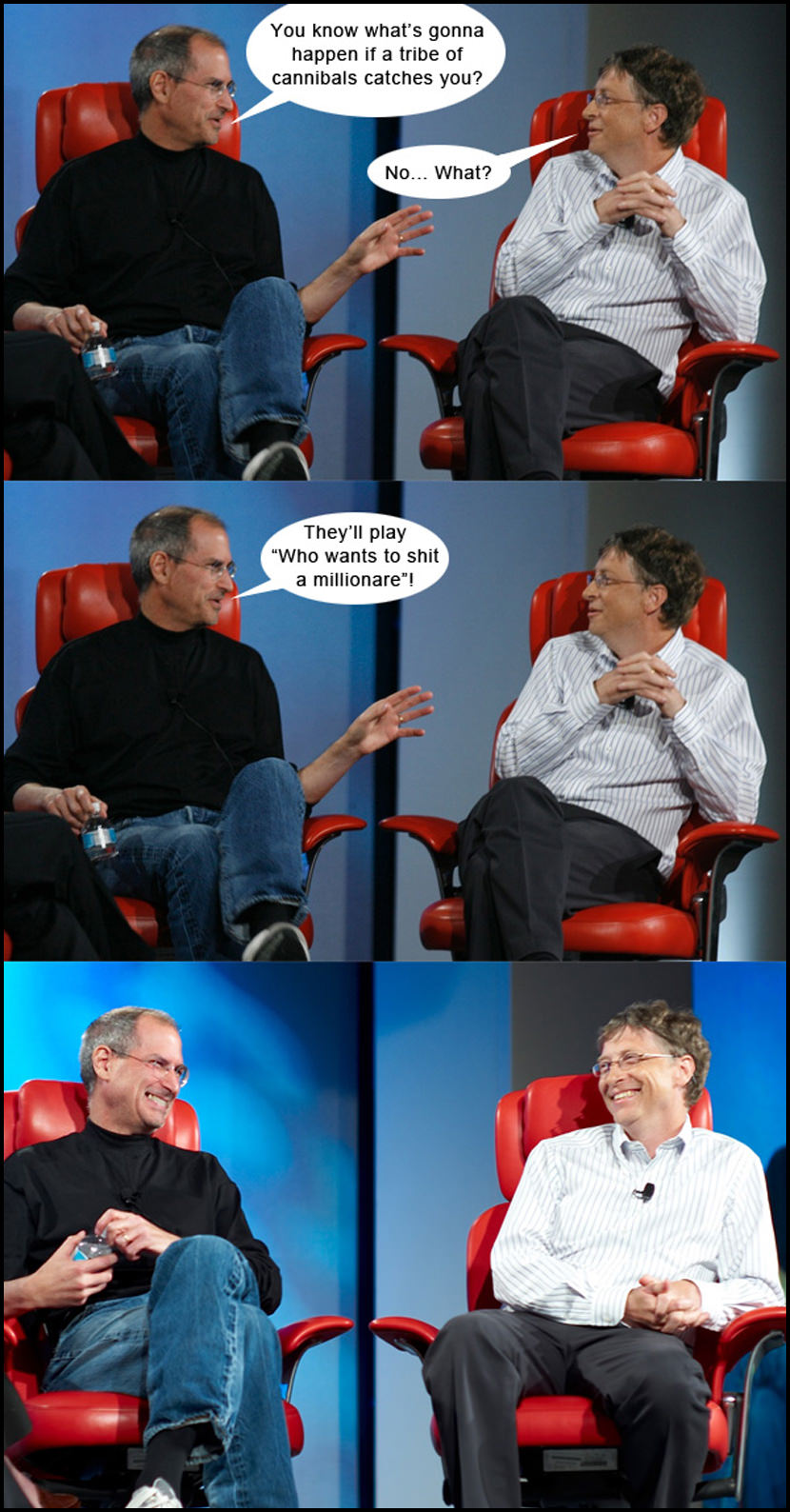 bill gates steve jobs Cannibalism