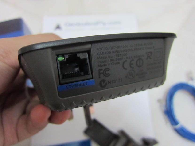 Cisco Linksys RE1000 Range Extender Review