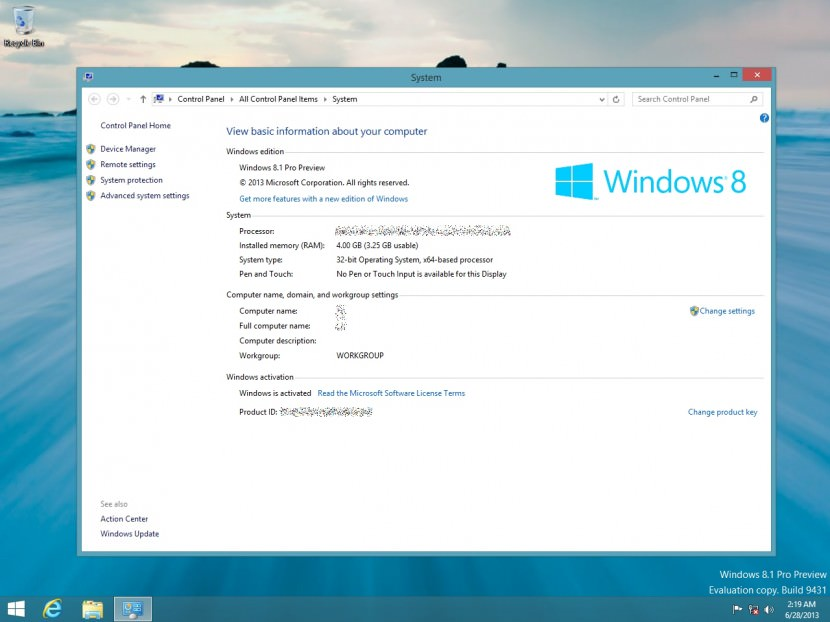 Windows 8 product key download for Window 8 product key