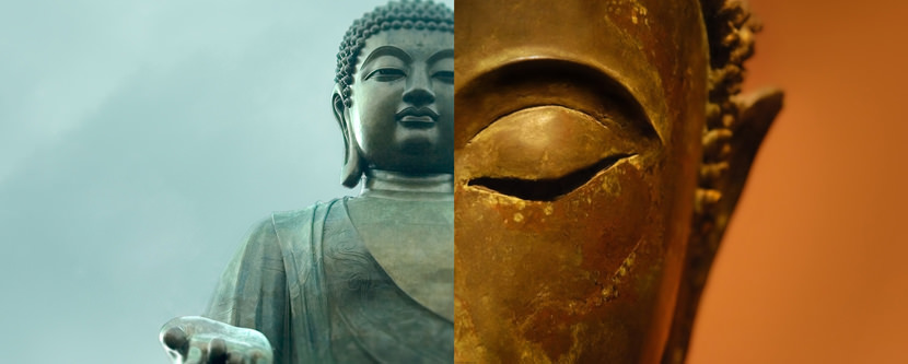 buddha Dual Screen Monitor HD Wallpaper