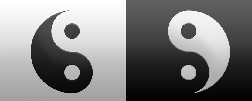 yin yang Dual Screen Monitor HD Wallpaper