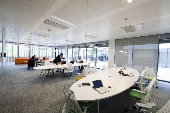 microsoft Edificio Creative Interior Design Of Offices