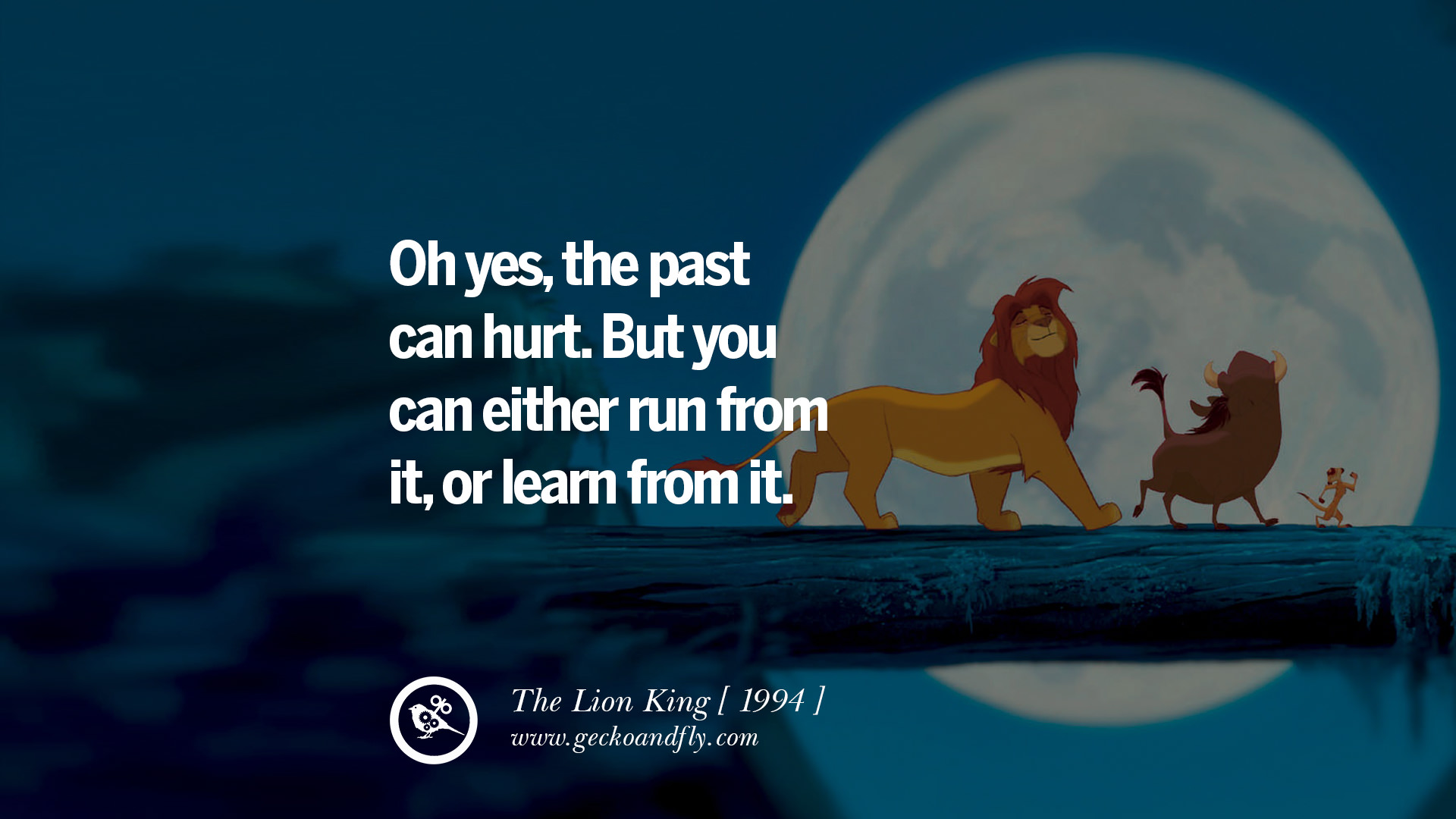 Disney Movie Quotes About Love The Lion King Oh yes
