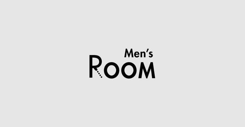 mensroom Creative Word Art Images As Iconic Logos