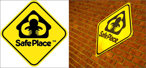 safe place bad logo