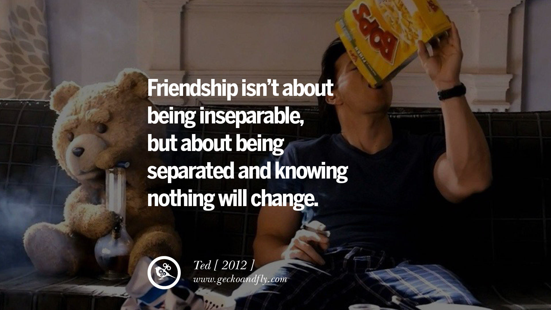A Quote About Friendship 20 Famous Movie Quotes On Love Life Relationship Friends And