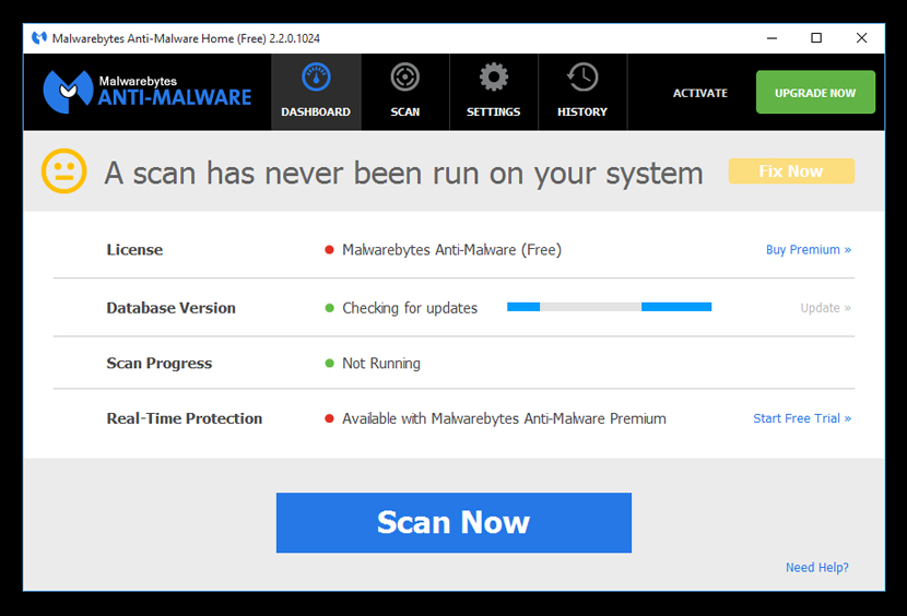 malwarebytes Powerful Fake Antivirus Virus Removal Tool by McAfee, Norton, Kaspersky and Malwarebytes