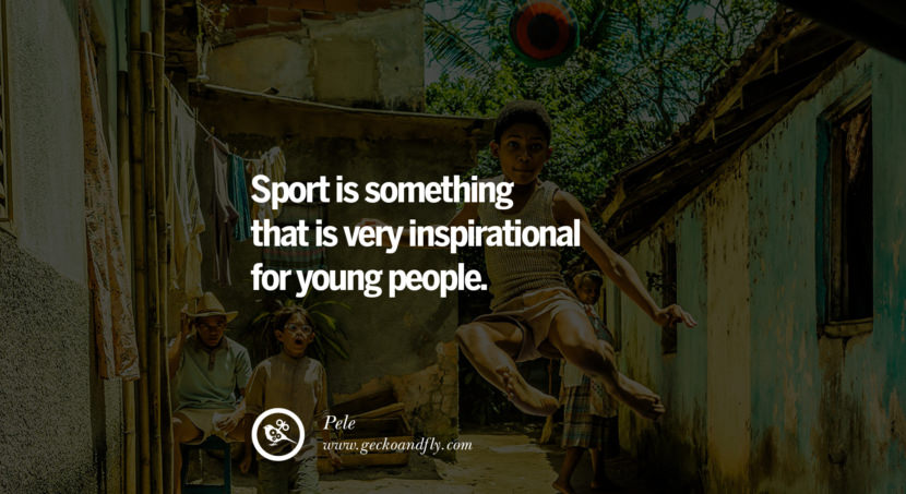football fifa brazil world cup 2014 Sport is something that is very inspirational for young people. - Pele best inspirational tumblr quotes instagram