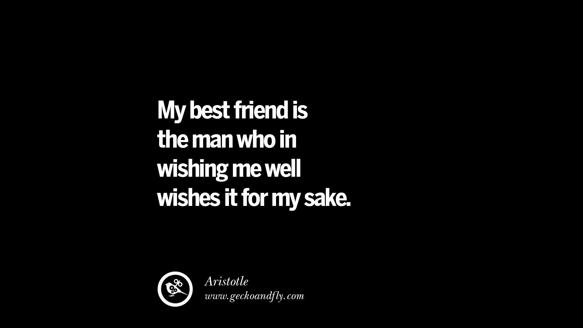Quotes About Best Friendship 20 Amazing Quotes About Friendship Love And Friends  Geckoandfly 2018