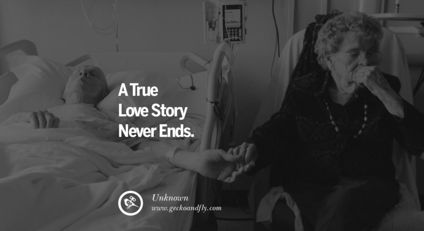 quotes about love A True Love Story Never Ends. - Unknown instagram pinterest facebook twitter tumblr quotes life funny best inspirational