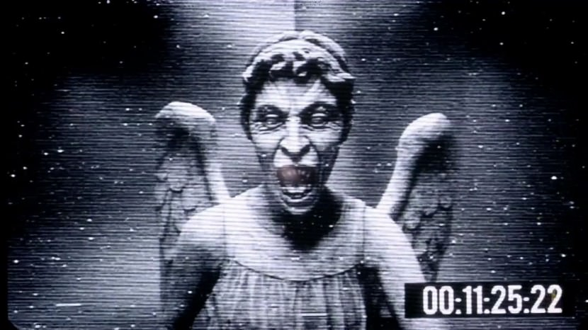 Prank Weeping Angel Desktop Wallpaper