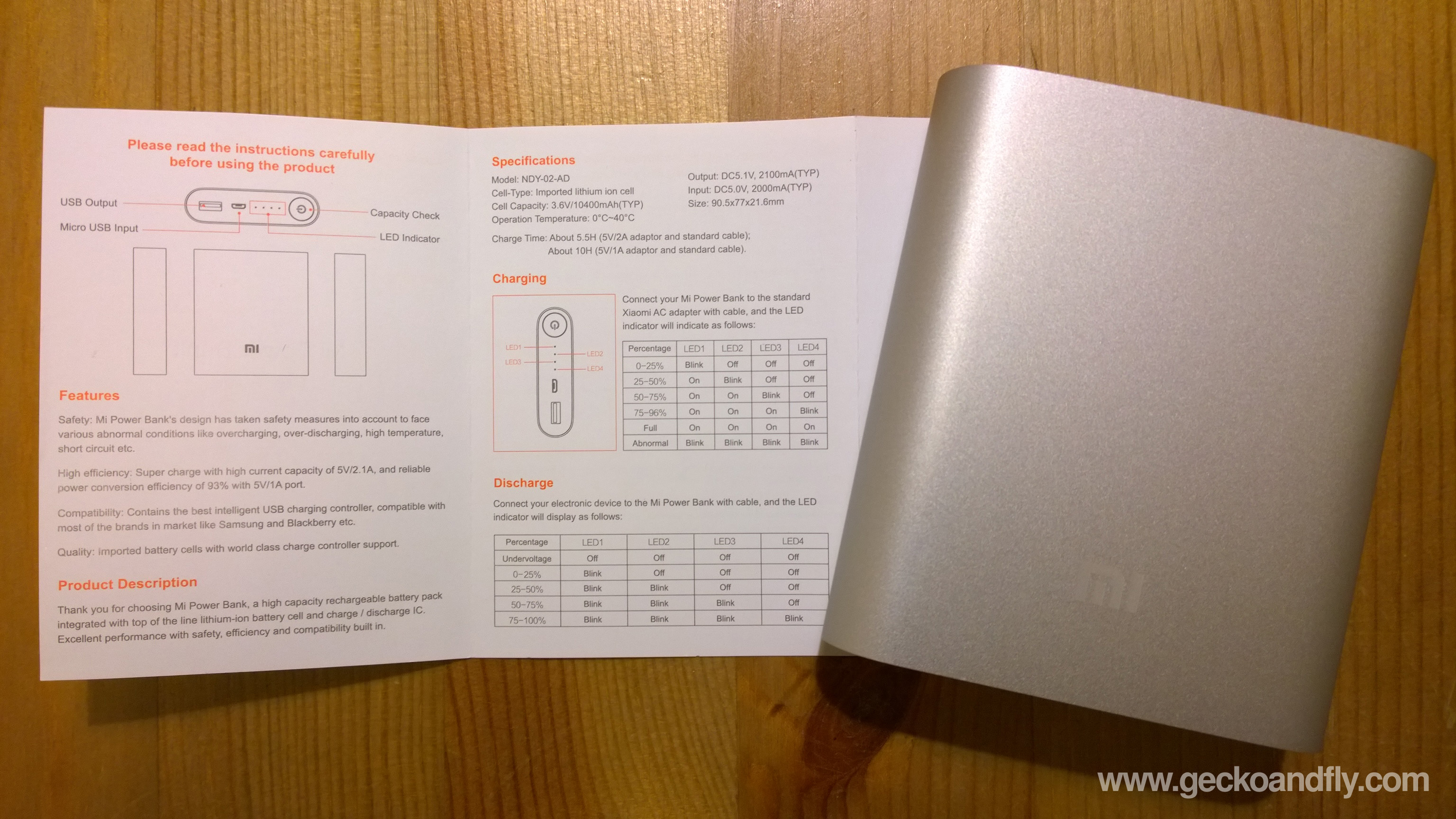 Xiaomi Power Bank English Laz Redmi 2 Garansi Resmi Tam Metal Grey 10400 Mah Portable Charger Review