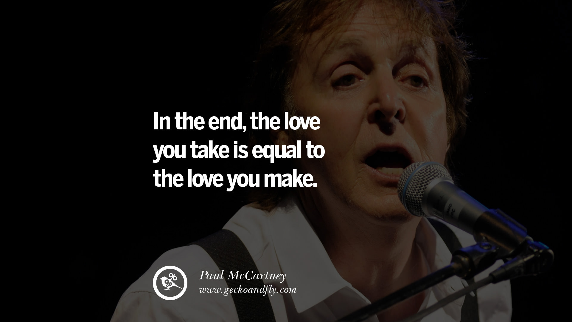 10 Quote By Paul McCartney On Vegetarianism, Life And Love