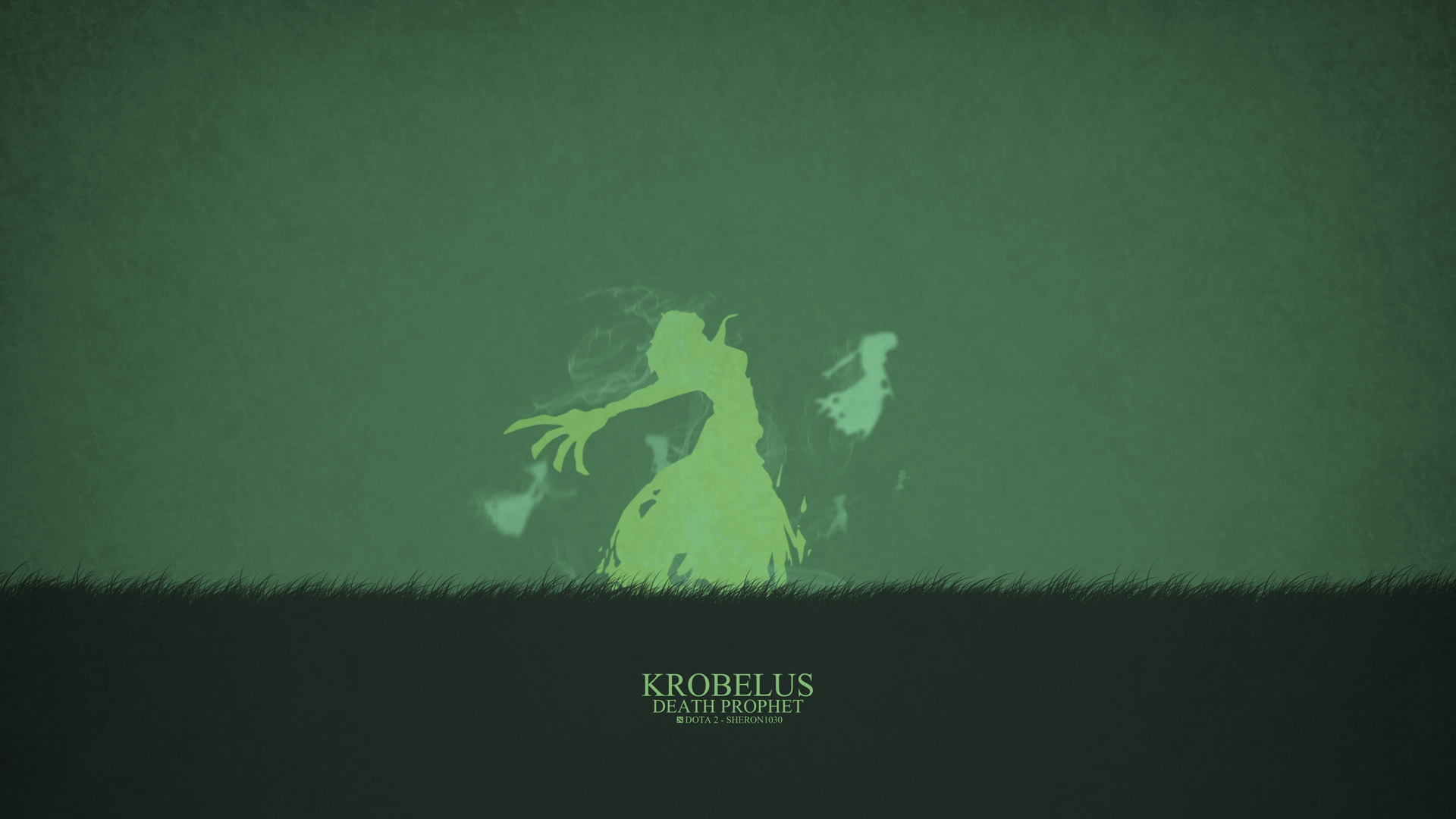 Death Prophet Krobelus download dota 2 heroes minimalist silhouette HD ...
