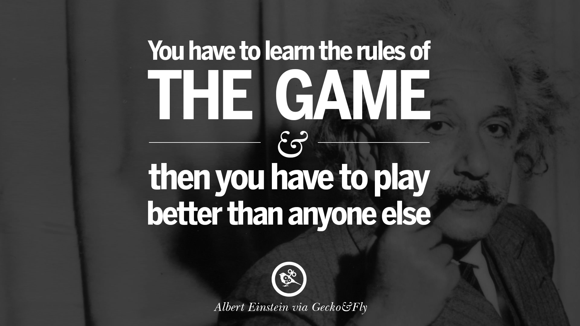 NEW ALBERT EINSTEIN QUOTES YOU HAVE TO LEARN THE RULES …