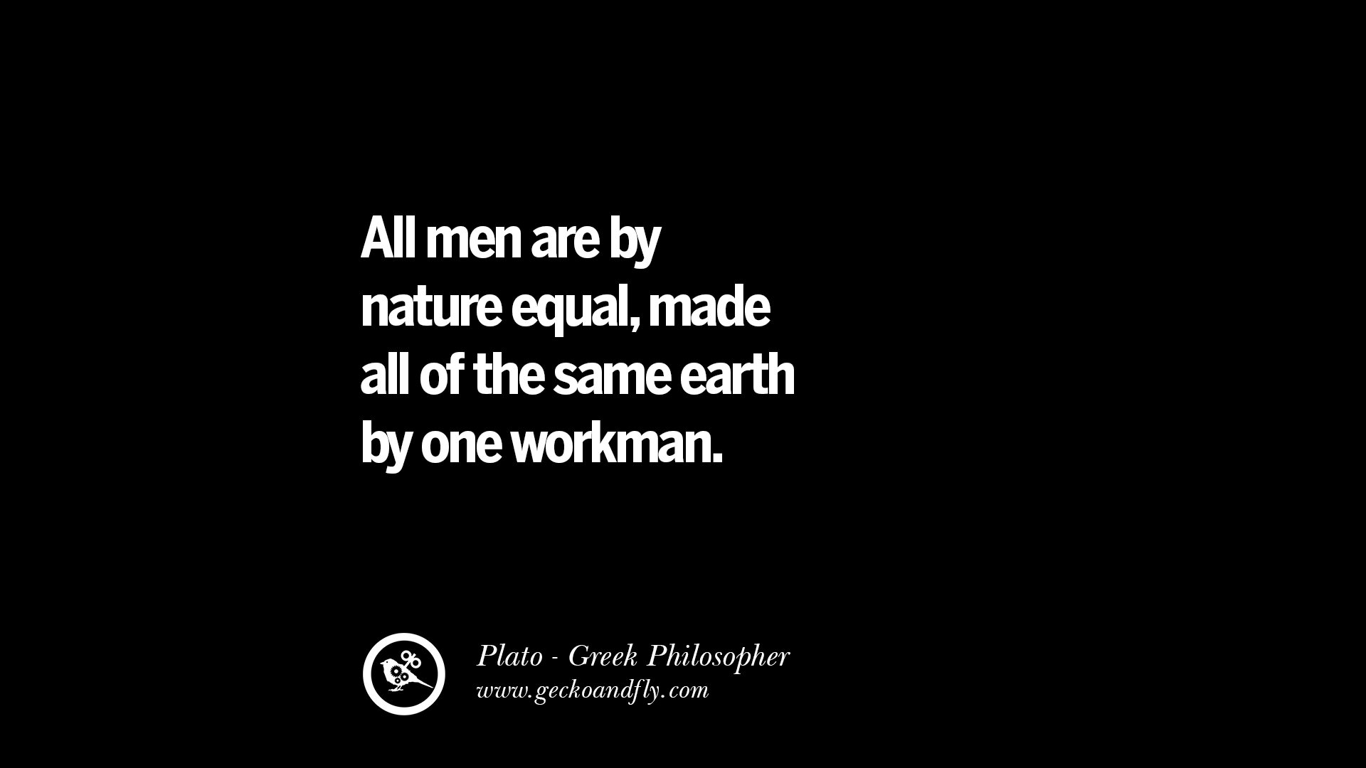 All Men By Nature Are Free
