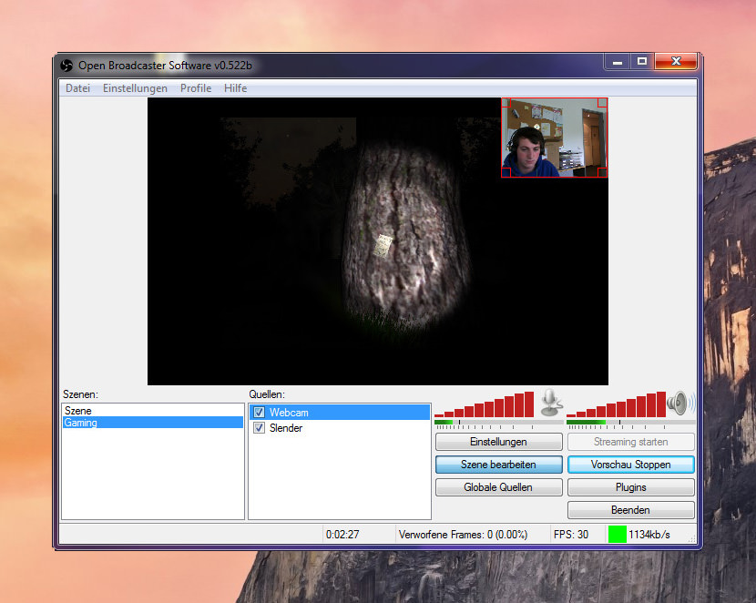 Open Broadcaster Software Free Software for Video Capturing, Game Broadcasting and Online Streaming