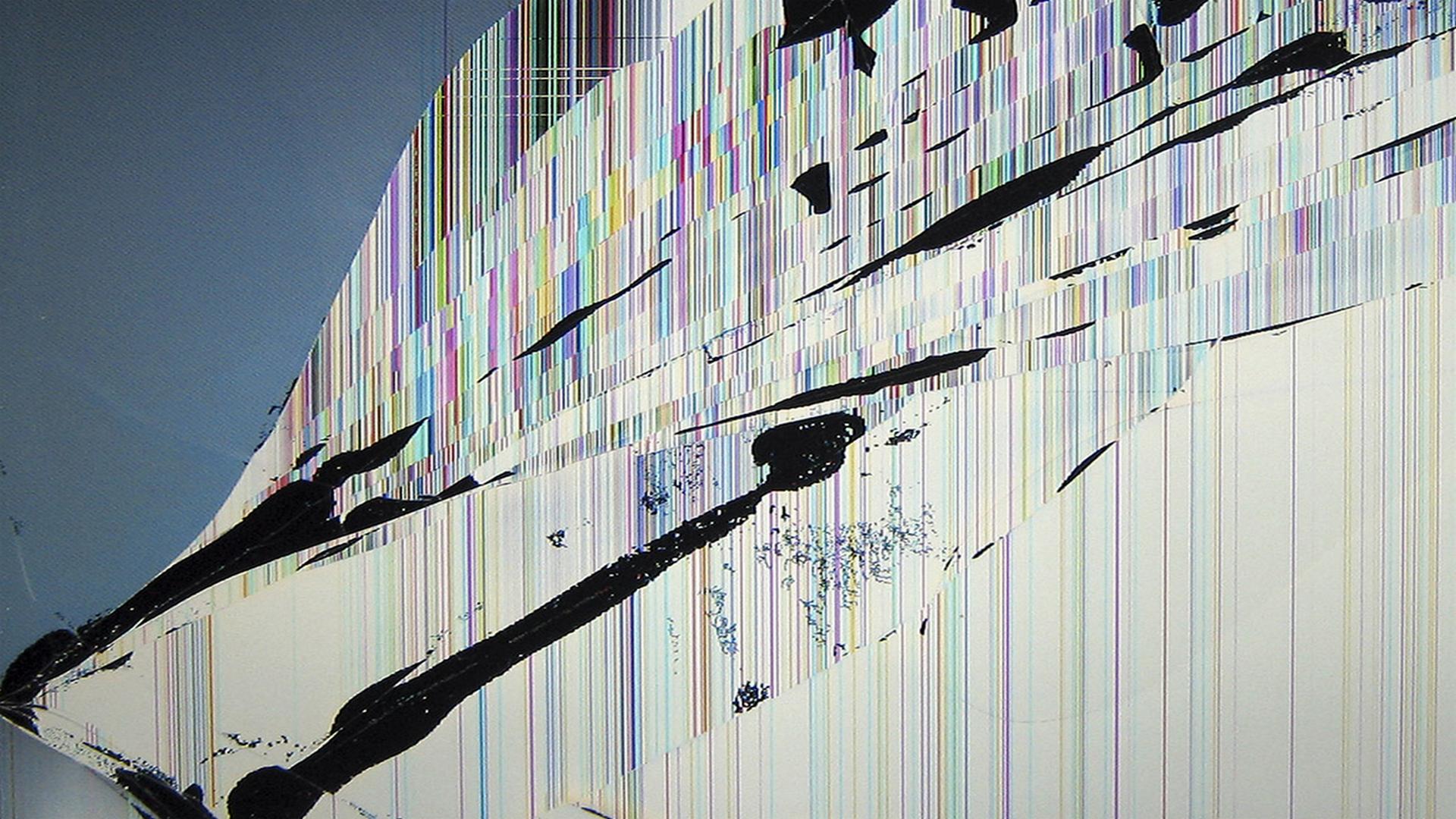 cracked screen wallpaper macbook - photo #36