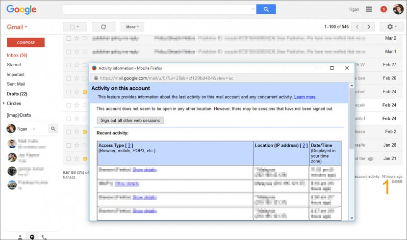 How To Find Out If Someone Hacked Into Your Gmail, Hotmail ...