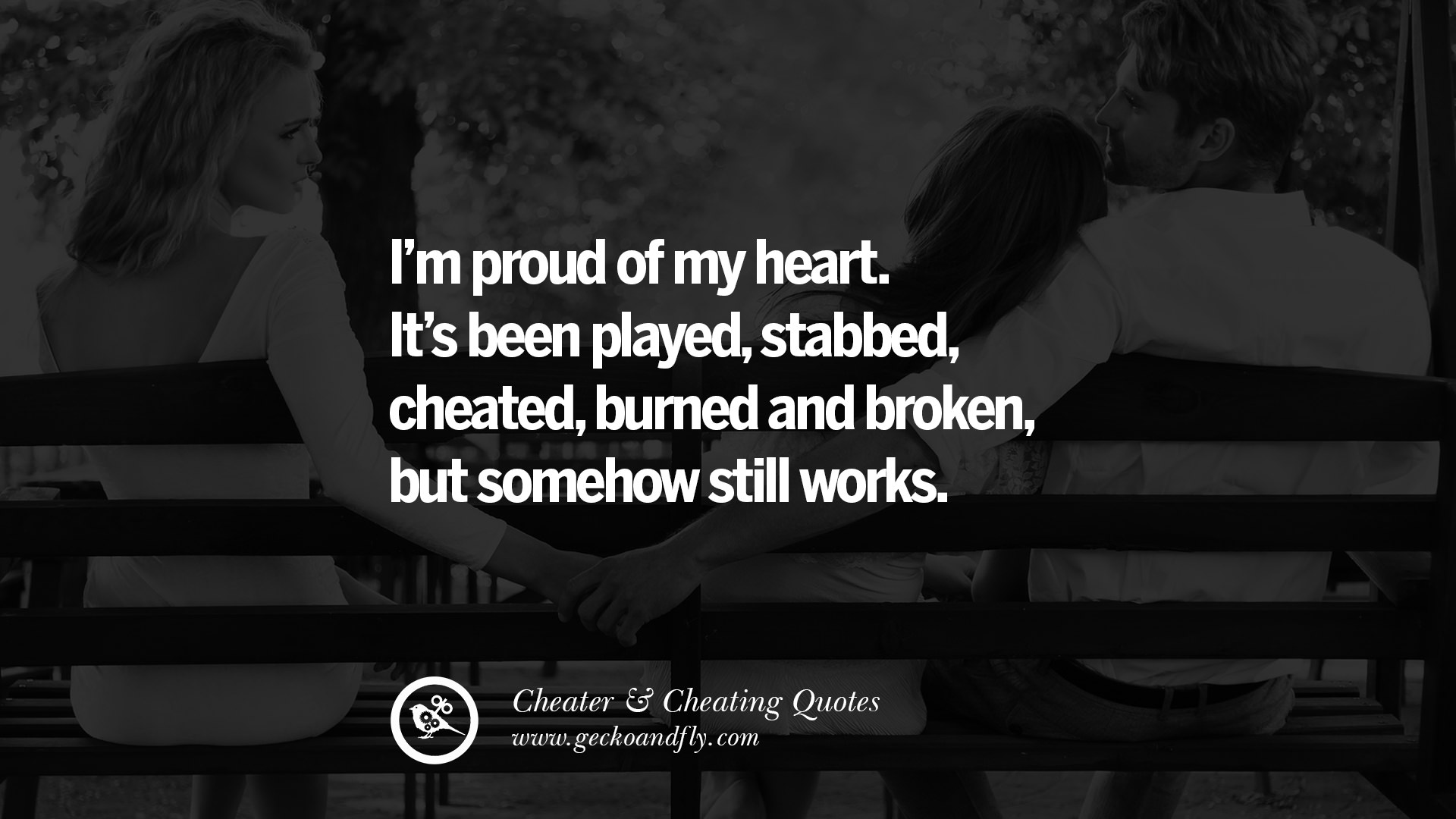 Heart Touching Love Quotes For My Girlfriend 60 Quotes On Cheating Boyfriend And Lying Husband  Geckoandfly 2018
