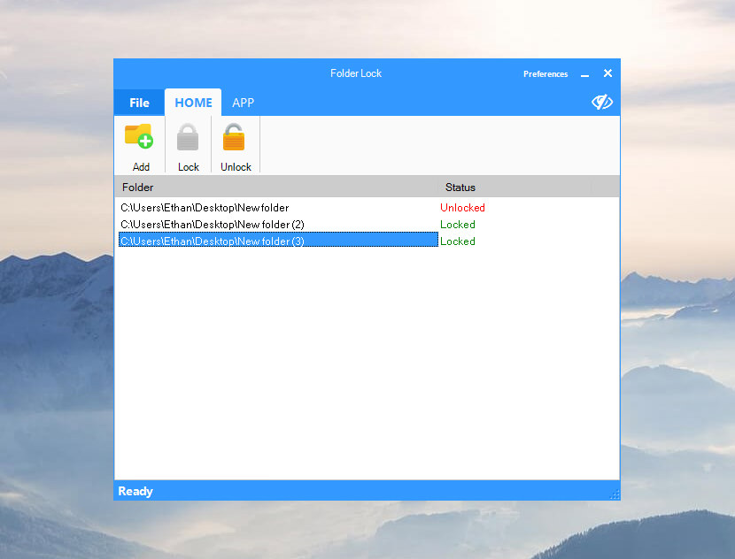 folder lock app for windows 10