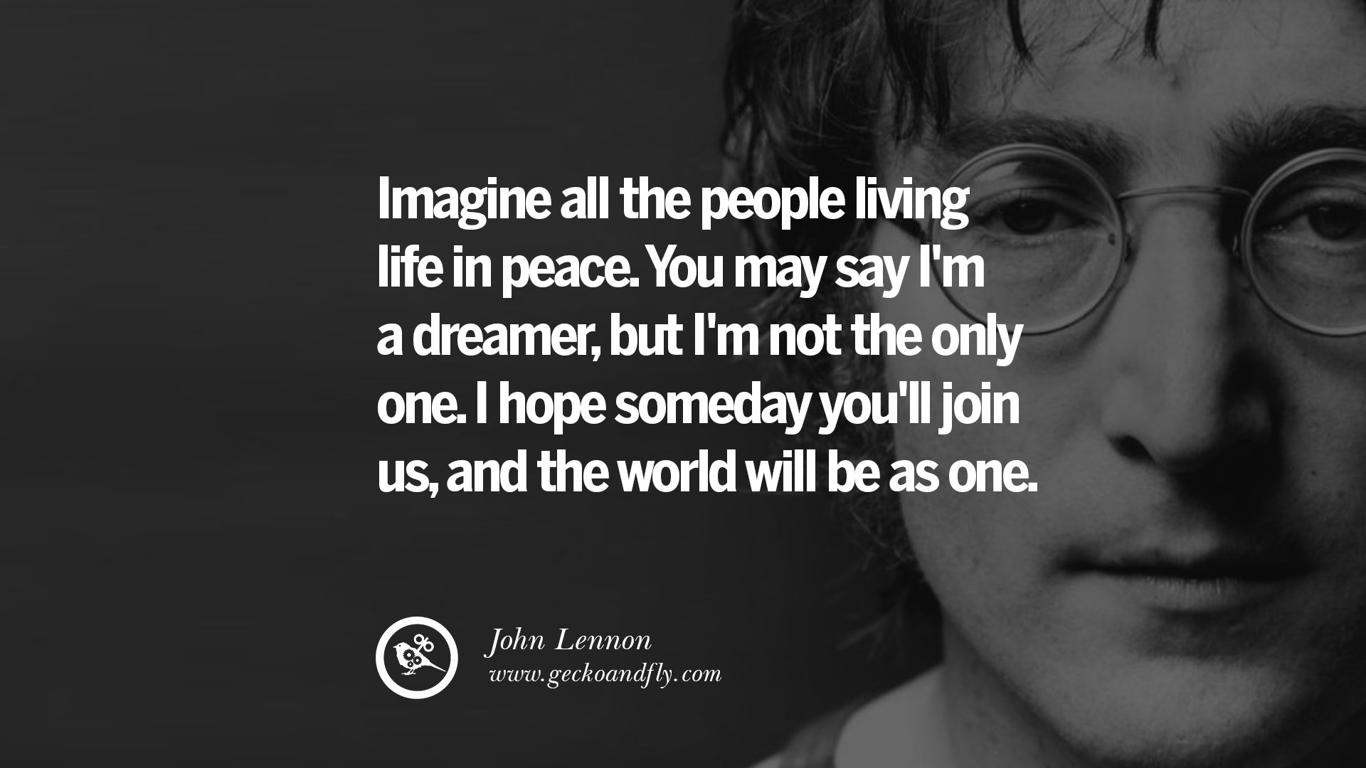 15 John Lennon Quotes On Love, Imagination, Peace And Death