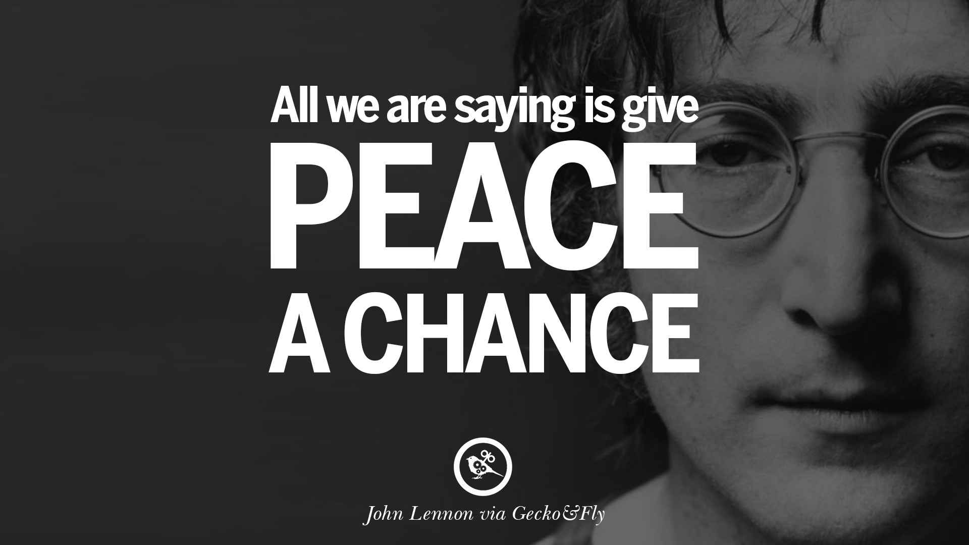 15 john lennon quotes on love imagination peace and death geckoandfly 2018 - Peace Quotes