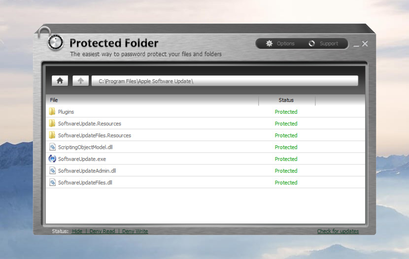 protected folder password secure Software For Password Protecting File And Folder Locker For Windows encryption