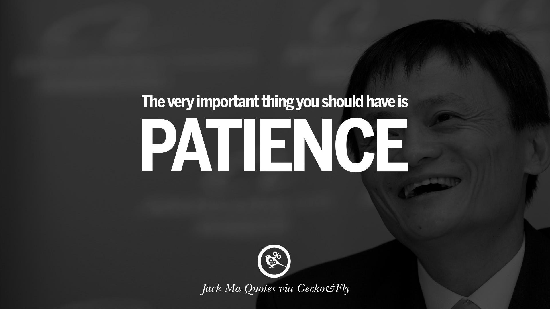 32 Jack Ma Quotes On Entrepreneurship Success Failure And
