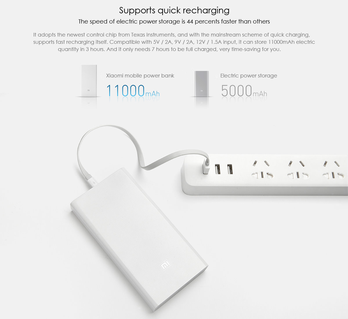 инструкция для xiaomi power bank 20000