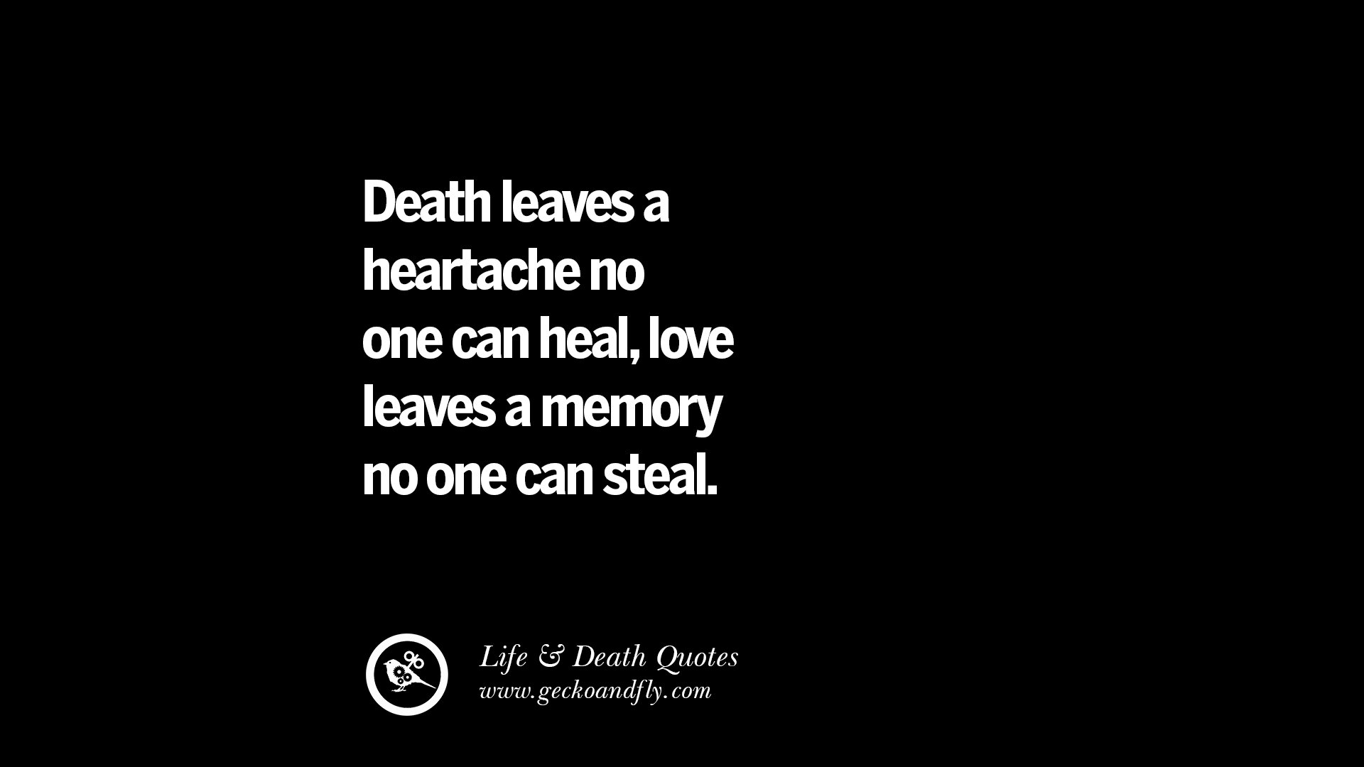 Quotes On Death 20 Inspirational Quotes On Life Death And Losing Someone