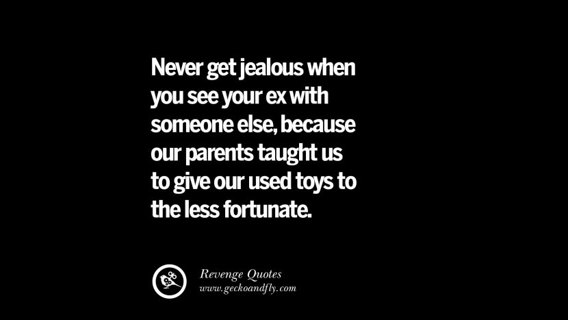 Dating someone else to make ex jealous
