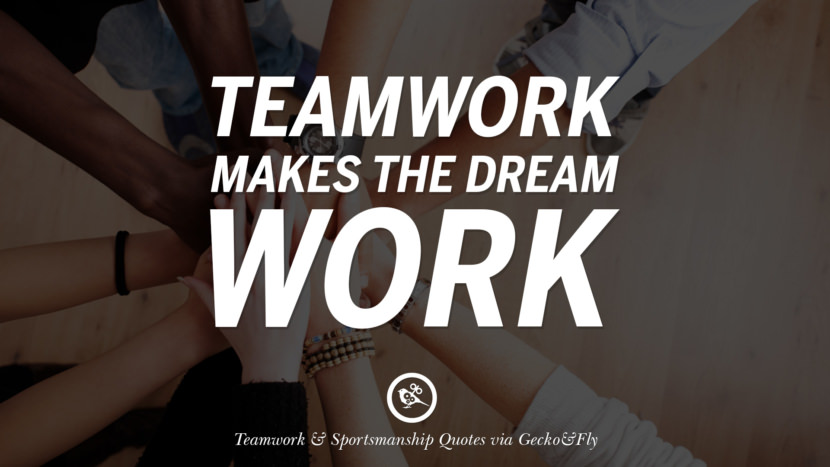essay on sportsmanship and teamwork