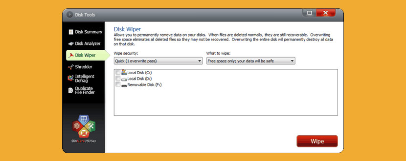 disk wiper Freeware To Securely Erase All Data From HDD Hard Drive