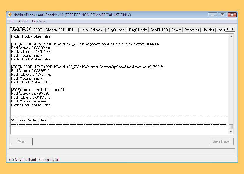 novirusthanks anti rootkit Free Rootkit, Trojan Horse, Virus And Spyware Remover