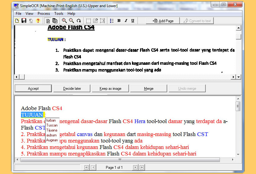 simple ocr Free OCR Software To Convert PDF Into Editable Word Text