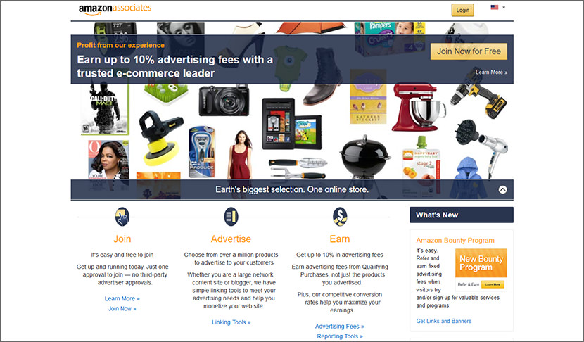 amazon associates Best Internet Affiliate Marketing Programs - Make Money Online