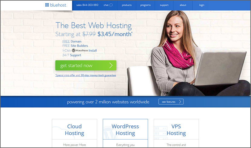 bluehost Cheap Yet Reliable Shared Web Hosting For WordPress Quality Best