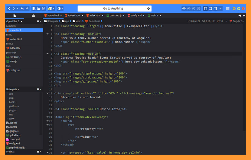 komodo edit Best macOS and Linux Programming Text Editor For Web Development