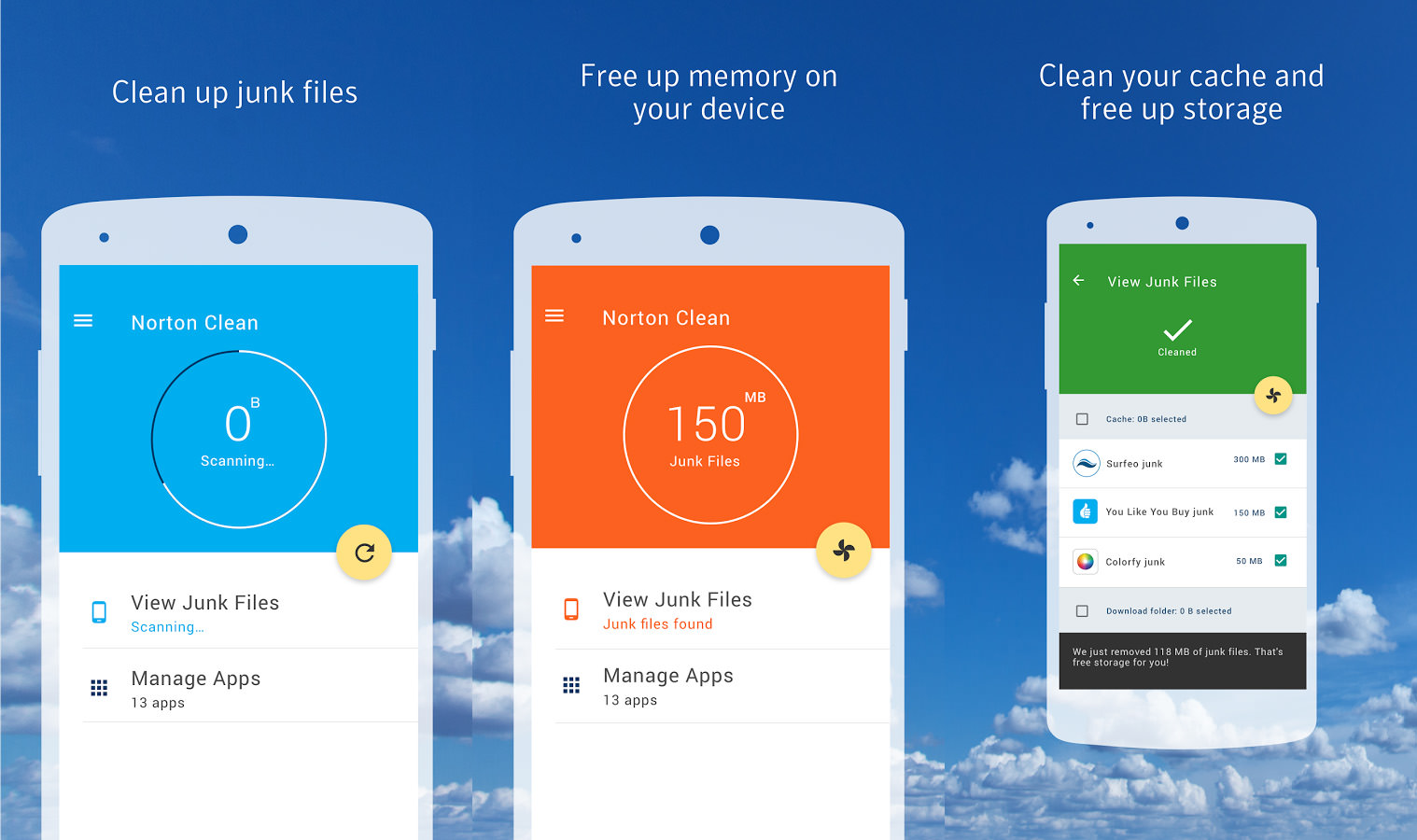 disk cleanup for android