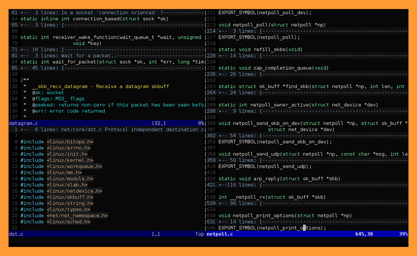 vim text editor Best macOS and Linux Programming Text Editor For Web Development