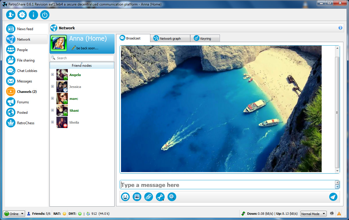 open source p2p video conferencing