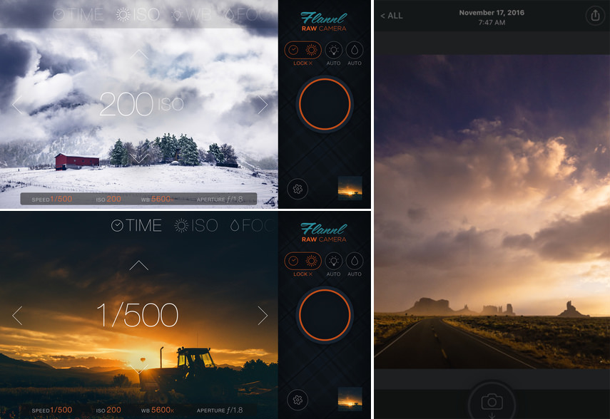 iphone photos in raw