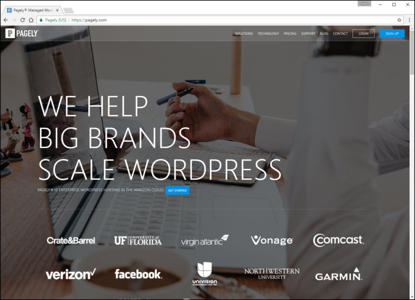 Pagely Managed WordPress Fastest WordPress Hosting With Varnish Cache, CDN & Daily Backup